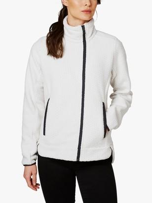 Helly Hansen Lyra Full Zip Fleece, Off White