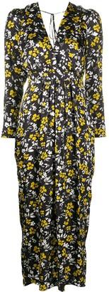 Racil floral-print V-neck dress