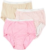 Jockey Women's Underwear Plus Size Classic Brief - 3 Pack