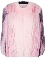 Mary Katrantzou Thalia Fox Fur Coat