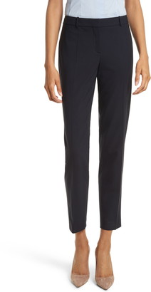 BOSS Tiluna Slim Stretch Wool Suit Trousers