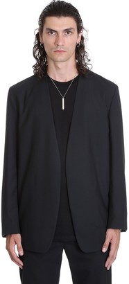 Maison Margiela Blazer In Black Wool