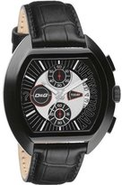 Dolce & Gabbana Men's DW0214 High Security Leather Chronograph Dial Watch
