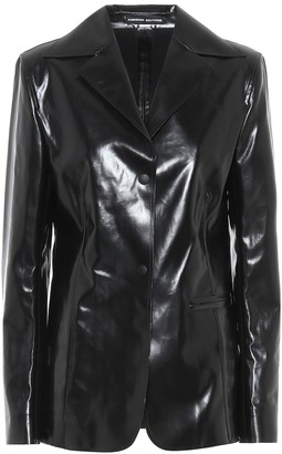 Kwaidan Editions Faux leather jacket
