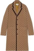 Gucci GG print single-breasted coat