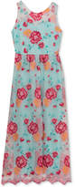Rare Editions Embroidered Maxi Dress, Big Girls