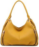 Segolene Paris Perforated Vegan Leather Shoulder Bag