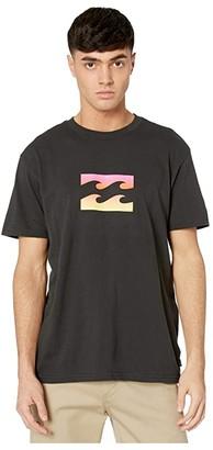 Billabong Team Wave Short Sleeve (Black) Men's Clothing