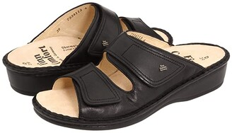 Finn Comfort Jamaica - 82519 (Black Nappa Soft Footbed) Women's Slide Shoes