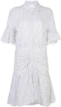 Cinq à Sept stripe Asher dress
