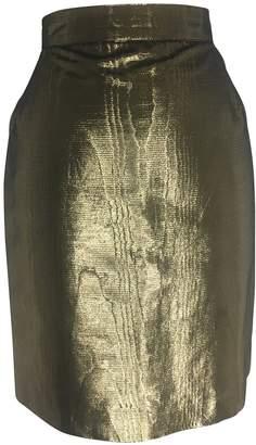 Krizia Gold Skirt for Women Vintage