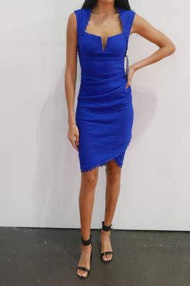 Nicole Miller Sweetheart Ruched Dress