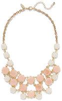 New York & Co. Blush Faux-Stone Bib Necklace
