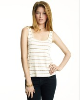 Metallic Striped Tank