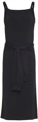 Helmut Lang Tie-front Knitted Dress