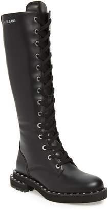 Calvin Klein Jeans Netta Tall Combat Boot