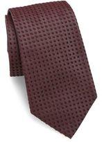 Giorgio Armani Square Knit Silk Tie