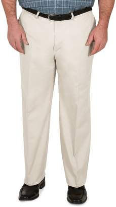 Haggar Big Tall Premium No-Iron Khaki Pants