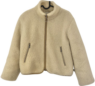Urban Outfitters Beige Polyester Coats
