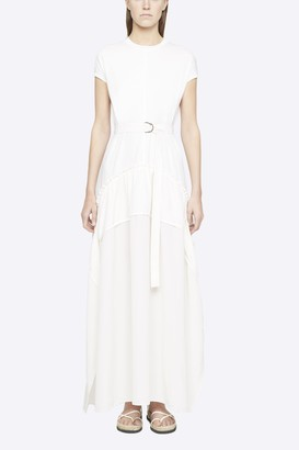 3.1 Phillip Lim Cap Sleeve Dress with Shirred Skirt