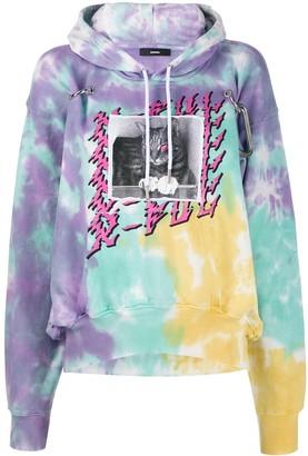 Diesel Hook tie-dye hoodie