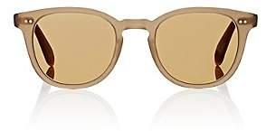Garrett Leight Men's McKinley Sunglasses-Beige, Tan