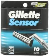 Gillette Sensor Cartridges - 10 ct, Pack of 2