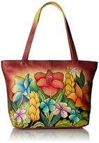 Anuschka Anna Handpainted Leather Large Tote