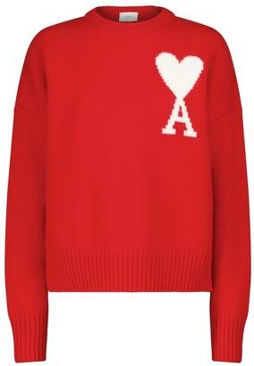 AMI Paris Exclusive to Mytheresa Ami de Cur wool sweater