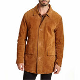 Excelled Leather EXCELLED SUEDED LEATHER WALKING COAT