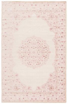 "Jaipur Living Malo Medallion Pink/White Area Rug, 8'10""x11'9"""