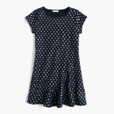 J.Crew Girls' glitter ruffle-hem dress