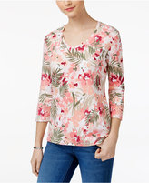 Karen Scott Print Top, Created for Macy's