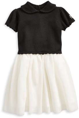 Ralph Lauren Baby Girl's Holiday Wool & Tulle Sweater Dress