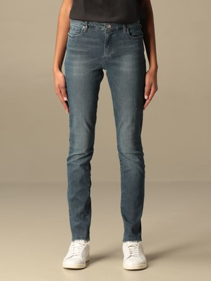 Armani Exchange Jeans In Used Denim