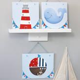 Liza J design Personalised Nautical Nursery Wall Art