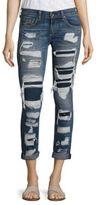 Rag & Bone Dre Distressed Cuffed Boyfriend Jeans/Ada Brigade