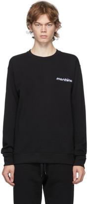 Moschino Black 3D Logo Sweatshirt