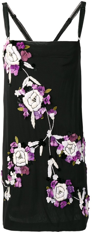 Dolce & Gabbana Pre-Owned 2000's embroidered floral dress