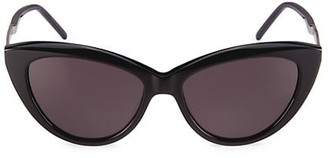 Saint Laurent Monogram 55MM Cat Eye Sunglasses