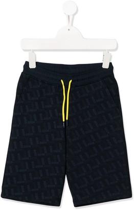 Boss Kids All-Over Logo Shorts