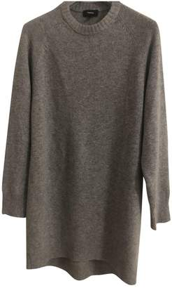 Theory Grey Cashmere Dress for Women