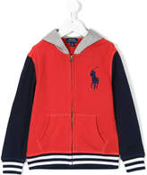 Ralph Lauren color block zip jacket