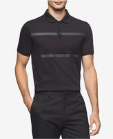 Calvin Klein Men's Multi-Textured Polo