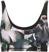 The Upside Behati printed stretch-jersey sports bra
