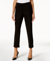 INC International Concepts Cuffed Cropped Pants, Created for Macy's