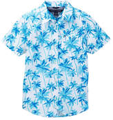 Tommy Hilfiger Palm Short Sleeve Printed Shirt (Big Boys)