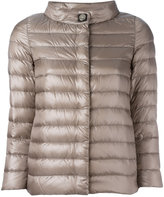 Herno high neck down jacket - women - Feather Down/Polyamide/Polyester/Viscose - 44