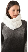 Adrienne Landau Rabbit Fur Neck Warmer