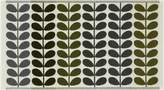 Orla Kiely Multi stem bath mat, moss